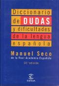 Diccionario De Dudas Y Dificultades