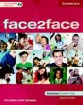 Face2face Elementary Student's Book with CD ROM Spanish Edition