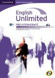 English Unlimited for Spanish Speakers Pre-intermediate Self-study Pack (Workbook with DVD-R...