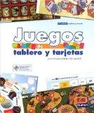 Juegos de tablero y terjetas / Games with Flashcards and Boards: Para el aprendizaje del esp...