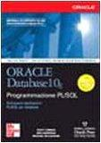 Oracle Database 10g. Programmazione PL/SQL