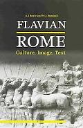 Flavian Rome Culture, Image, Text