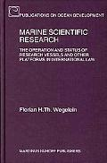 Marine Scientific Research The Operation And Status of Research Vessels And Other Platforms ...