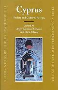 Cyprus Society And Culture 1191-1374