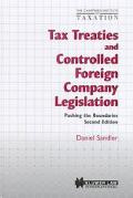 Tax Treaties and Controlled Foreign Company Legislation: Pushing the Boundaries