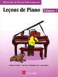 Piano Lessons Book 2 - French Edition Hal Leonard Student Piano Library