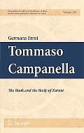 Tommaso Campanella: The Book and the Body of Nature (International Archives of the History o...
