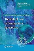 The Rule of Law in Comparative Perspective (Ius Gentium: Comparative Perspectives on Law and...