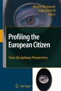 Profiling the European Citizen : Cross-Disciplinary Perspectives