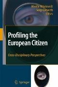 Profiling the European Citizen : Cross-Disciplinary Perspectives