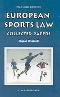 European Sports Law: Collected Papers