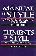 The Chicago Manual of Style and the Elements of Style, Special Edition