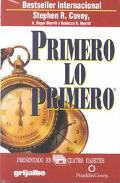 Primero Lo Primero / First Things Go First (Spanish Edition)
