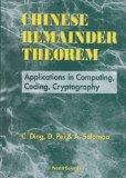 Chinese Remainder Theorem: Applications in Computing, Coding, Cryptography - C. Ding - Hardc...