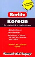 Berlitz Korean-English/English-Korean Pocket Dictionary