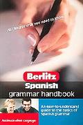Berlitz Spanish Grammar Handbook