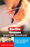 Berlitz German Grammar Handbook