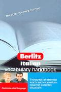 Berlitz Italian Vocabulary Handbook