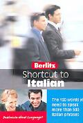 Berlitz Short Cut To Italian Over 100 Words You Need To Speak Over Than 500 Italian Phrases