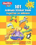 101 Animals Sticker Book/ 101 Pegatinas De Animales