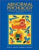 Abnormal Psychology: The Problem of Maladaptive Behavior 11th Edition