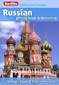 Russian Berlitz Phrase Book and Dictionary