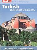 Turkish Berlitz Phrase Book and Dictionary