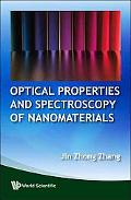 OpticaOptical Properties And Spectroscopy Of Nanomaterials