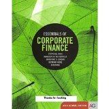 Essentials of Corporate Finance 8th Edition (International Edition)