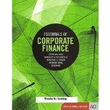 Essentials of Corporate Finance 8th Edition (International Edition)
