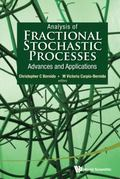 Analysis of Fractional Stochastic Processes : Advances and Applications: 7th Jagna Internati...