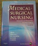 Title: MEDICAL-SURGICAL NURSING,V.2-W
