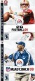 NFL Football Head Coach 2009 + NCAA College Football 09