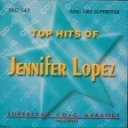 Jennifer Lopez Greatest Hits Karaoke CD+G Superstar Sound Tracks