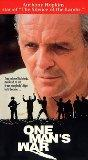 One Man's War [VHS]