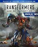 Transformers: Age of Extinction (3D Blu-ray + Blu-ray + DVD)