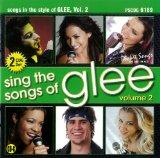 Sing The Songs of Glee, Vol. 2 - Karaoke CD