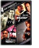 Extreme Action 4 Film Favorites (Eraser / The Last Boy Scout / Passenger 57 / Point of No Re...