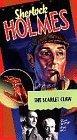 Sherlock Holmes: The Scarlet Claw [VHS]