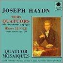 Haydn: Trois Quatuors (3 String Quartets)