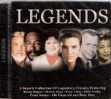 Legends: Various Artists- Frank Sinatra, Bing Crosby, Ella Fitzgerald, Marvin Gaye & Many More!