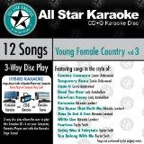 ASK-1562 Karaoke: Young Female Country 3 With Karaoke Edge, Carrie Underwood, Lady Antebellu...
