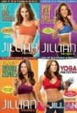 Jillian Michaels 4 DVD Set. 30 Day Shred/Banish Fat Boost Metabolism/No More Trouble Zones/Y...