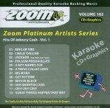 Zoom Karaoke CD+G - Platinum Artists 102: Johnny Cash