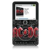 MusicSkins MS-ACDC30003 iPod Classic- 80-120-160GB- AC-DC- Black Ice Skin