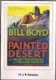 The Painted Desert 16x9 widescreen TV.