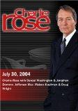 Charlie Rose with Denzel Washington & Jonathan Demme; Jefferson May, Moises Kaufman & Doug W...