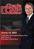 Charlie Rose with Al Sharpton; Barnett Rubin, Kathy Gannett, & Frank Wisner; Michael Moore (...
