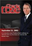 Charlie Rose with David Gergen & R.W. Apple; Ehud Barak; Larry Summers; Stephen Flynn (Septe...