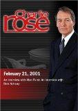 Charlie Rose with Alan Furst; Richard Schaap (February 21, 2001)